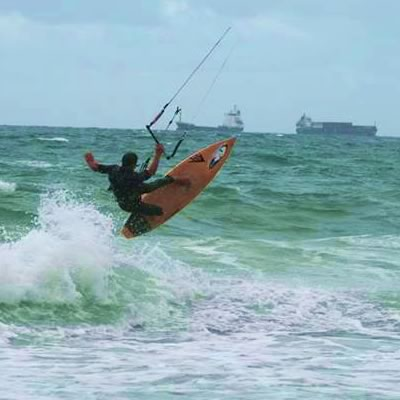 Pictorial Blog on South Florida kitesurfing and activities